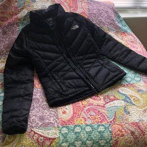 Women's XS Black North Face Winter Coat